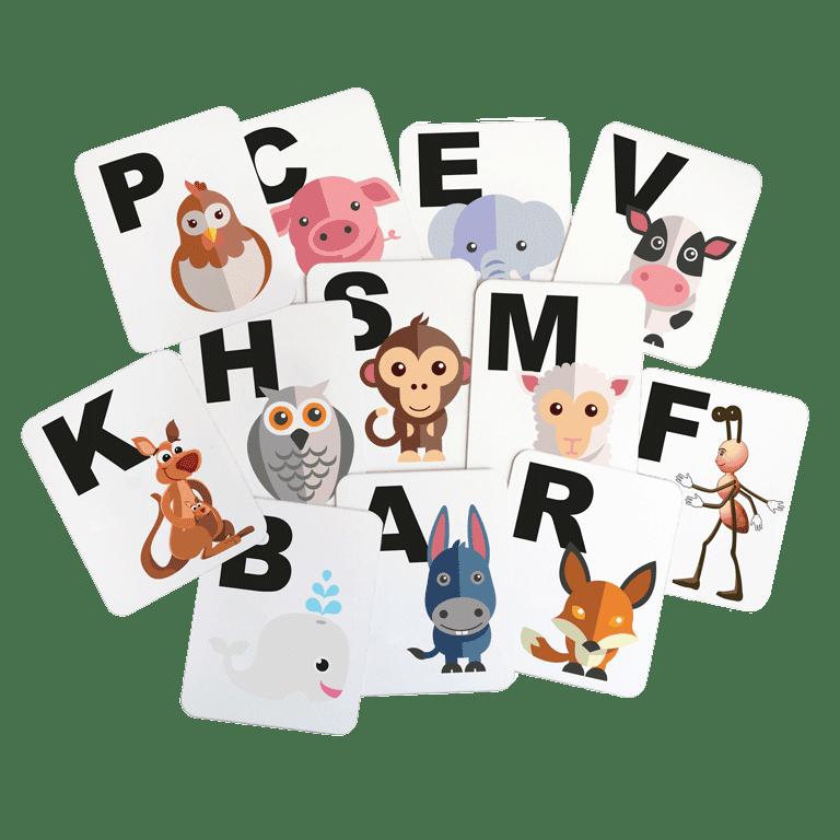 lettres de manège pour enfant avec dessin
