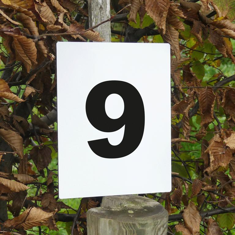 numéros d'obstacle