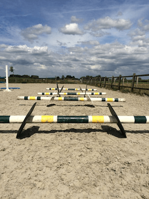 obstacle chevaux boxprotec, cavaletti simple