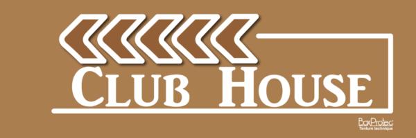 flèche club house marron fléchage boxprotec