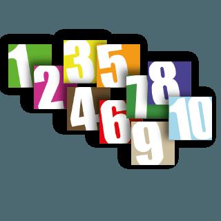 stickers Numéro de box autocollants d'écurie boxprotec