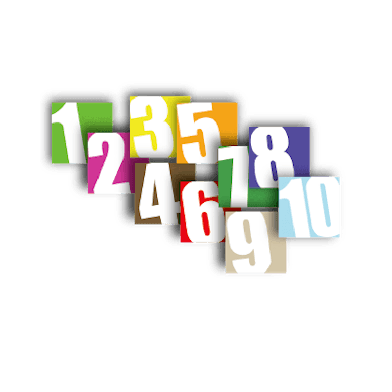 panneau numéro de box