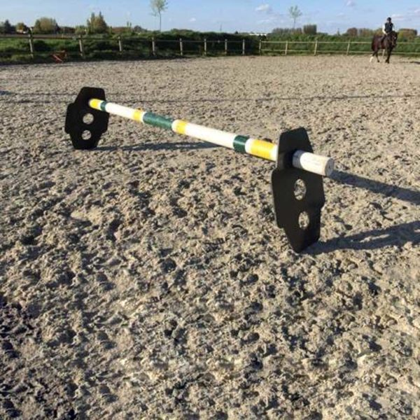obstacle pour cheval cavaletti double