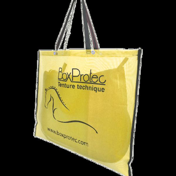 sac à tapis de selle standard jaune
