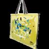 sac à tapis de selle décor design jaune