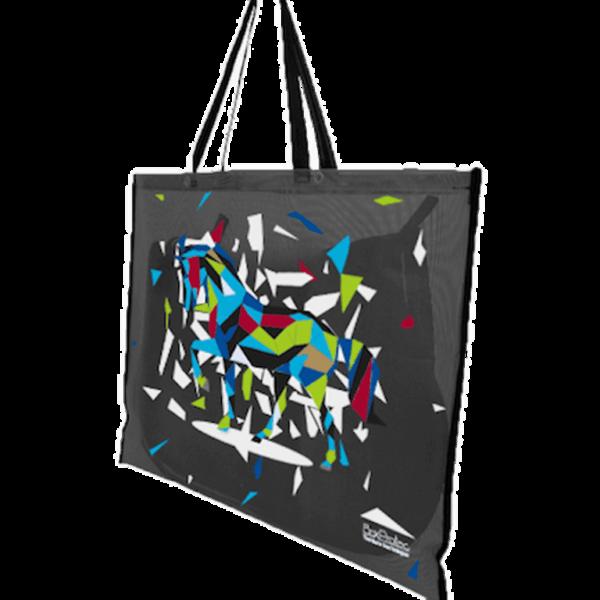 sac à tapis de selle décor design noir