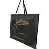 sac à tapis de selle standard noir et orange