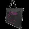 sac à tapis de selle standard noir et rose