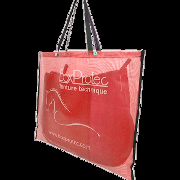 sac à tapis de selle standard rouge