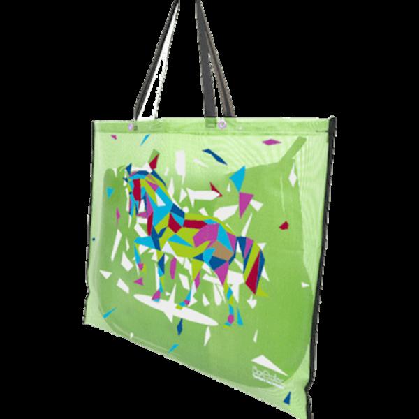 sac à tapis de selle décor design vert