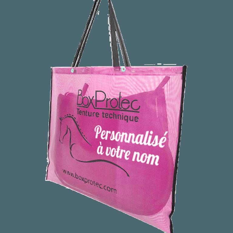sac à tapis de selle personnalisée à votre nom
