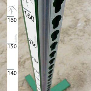 mètres autocollant pour chandelier d'équitation