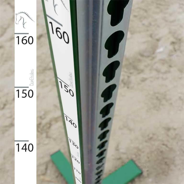 Mètre pour crémaillère 1,5 x 160 cm