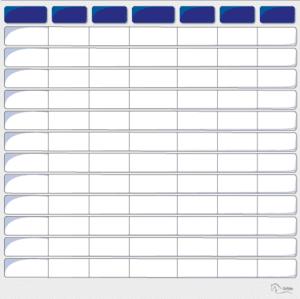 Planning VIERGE 100 x 100 cm-0