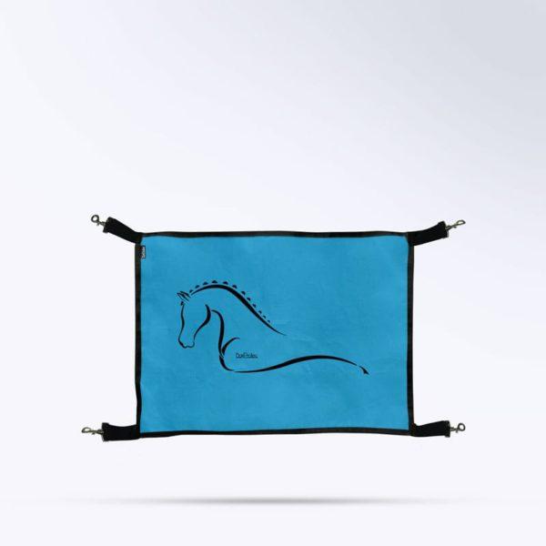 porte de box bleu micro aéré de la marque Boxprotec