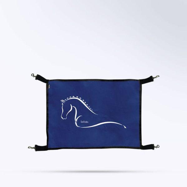 porte de box bleu marine micro aéré de la marque Boxprotec