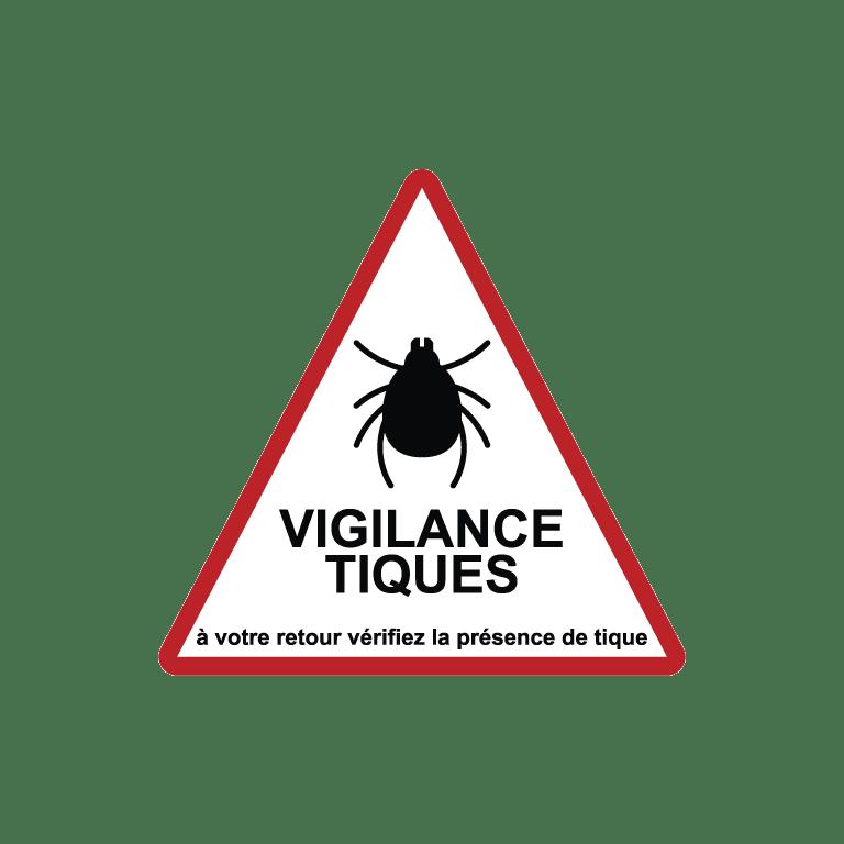 panneau vigilance tiques