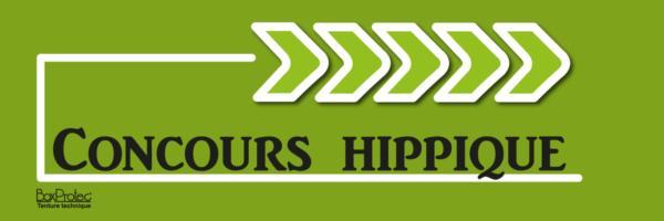 plaque flèche directionnelle concours hippique vert fléchage boxprotec