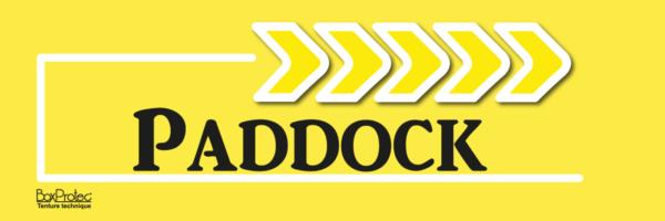 flèche paddock jaune fléchage boxprotec