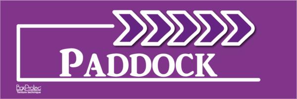 flèche paddock violet fléchage boxprotec