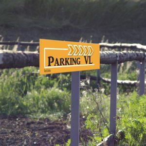 panneau de fléchage parking VL (voiture léger)