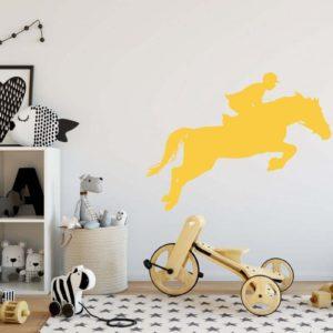 Stickers tête de cheval design