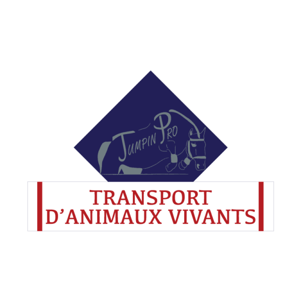 stickers losange à personnaliser transport d'animaux vivants