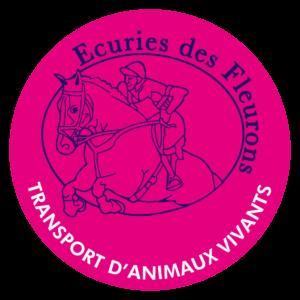 BOXPROTEC - panneau / autocollant / stickers / personnalisable / club / écurie / attention chevaux / cheval / transport / animaux vivants / ecuries des fleurons