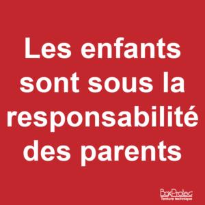 BOXPROTEC - panneau / autocollant / attention aux enfants / sous votre responsabilité / roulez lentement / rouler doucement / attention