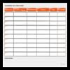 planning effaçable de concours équestre orange
