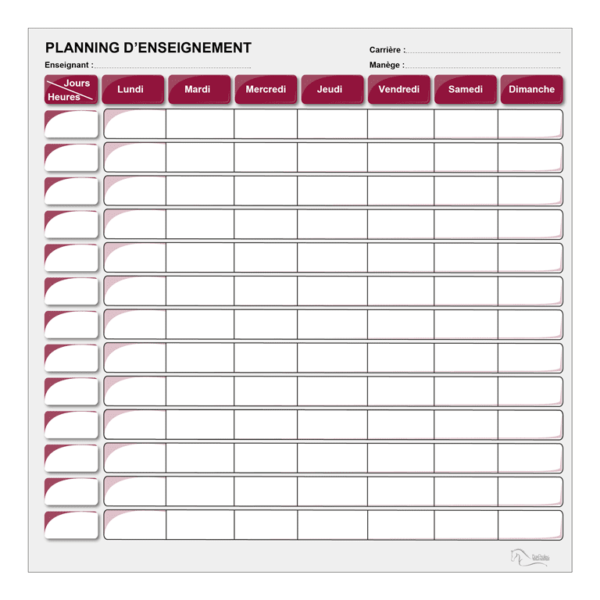 planning d'enseignement bordeaux