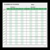 planning de pâturage effaçable vert
