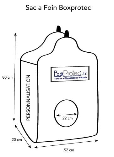 BOXPROTEC - conception / Sac à foin boxprotec / sac à foin / sac à foin chevaux / sac à foin à personnaliser / sac à foin pour cheval/ sac à foin personnalisable / drapeau pays / nom d'écurie / nom + prénom / image