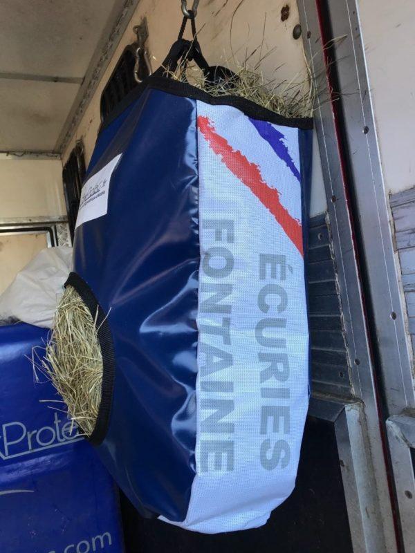 BOXPROTEC - Sac à foin boxprotec / sac à foin / sac à foin chevaux / sac à foin à personnaliser / sac à foin pour cheval/ sac à foin personnalisable / drapeau pays / nom d'écurie / nom + prénom / image