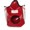 sac à foin rouge pour chevaux personnalisée à votre nom