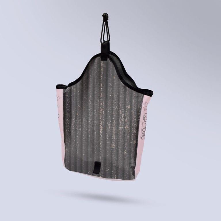 sac à foin collection zébré noir et rose Boxprotec