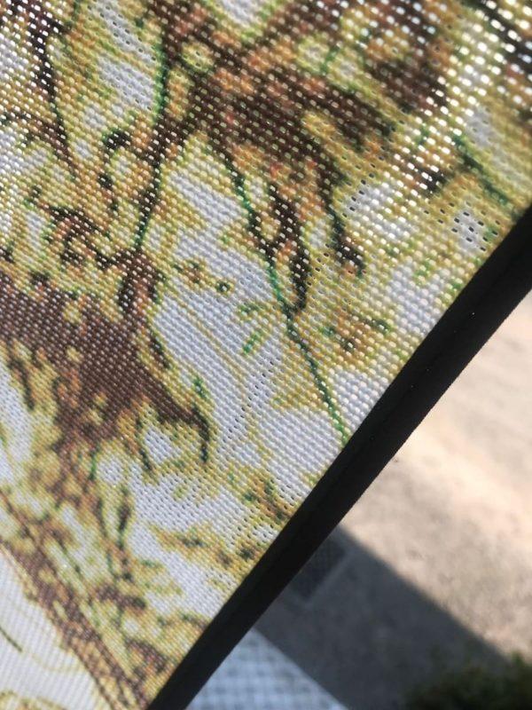 BOXPROTEC - moustiquaire / nature / Mesh de porte / moustiquaire de porte / moustiquaire à lamelles / moustiquaire à personnaliser