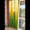 moustiquaire de porte à lamelle motif champs de blé