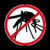 panneau interdit aux moustiques