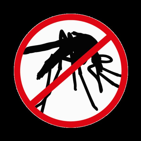 logo interdit aux moustiques