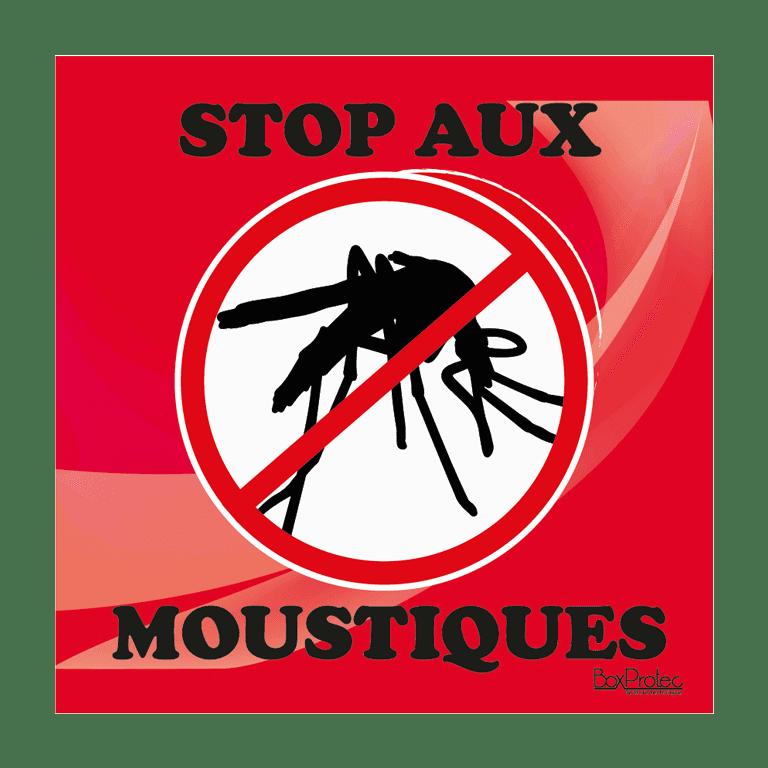 panneau stop aux moustiques