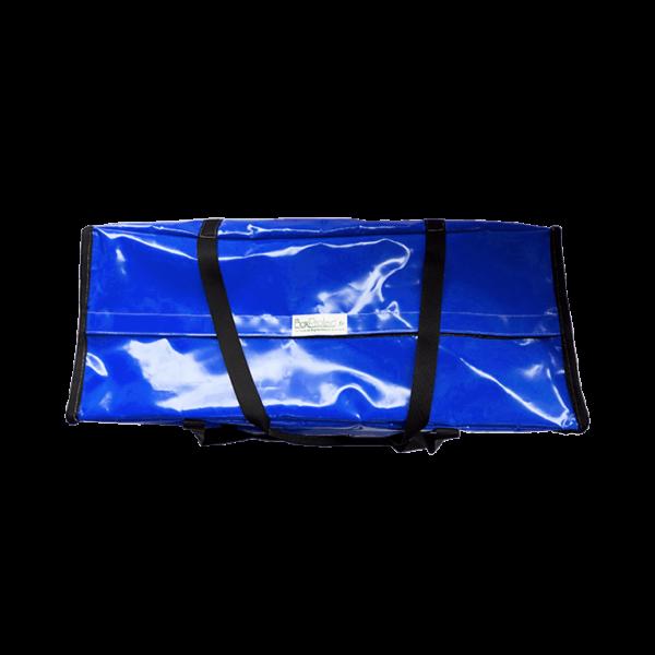 Grand sac à rangement bleu semi-étanche