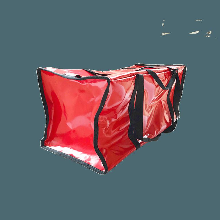 Grand sac à rangement rouge semi-étanche