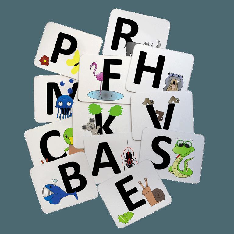 lettres de manège avec dessin pour enfant