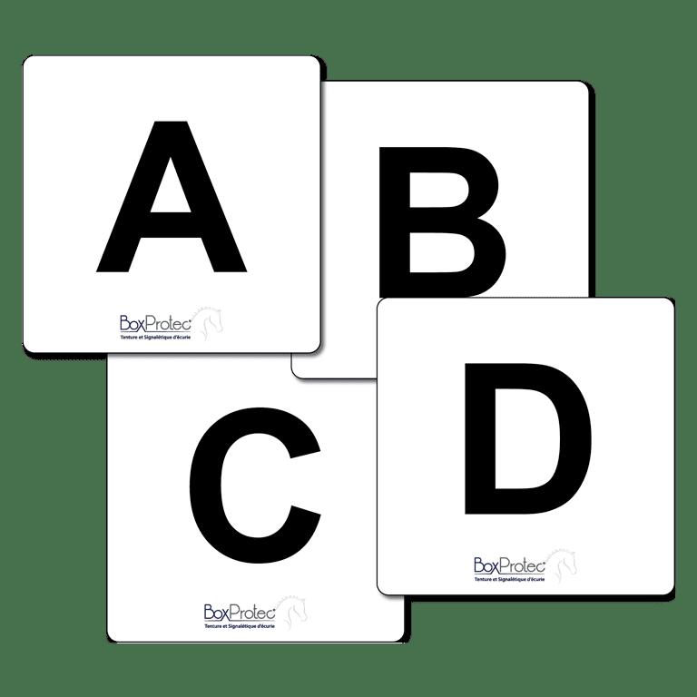 lettres d'attelage