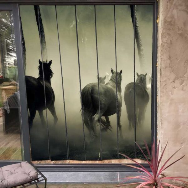 moustiquaire personnalisé pour baie vitrée