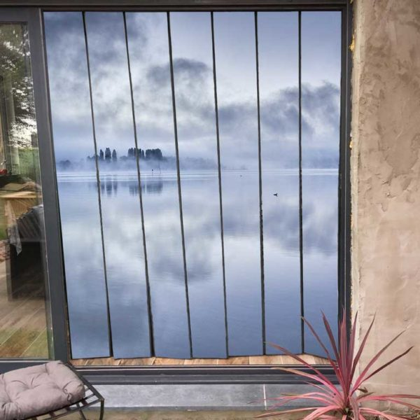 moustiquaire pour baie vitrée personnalisé