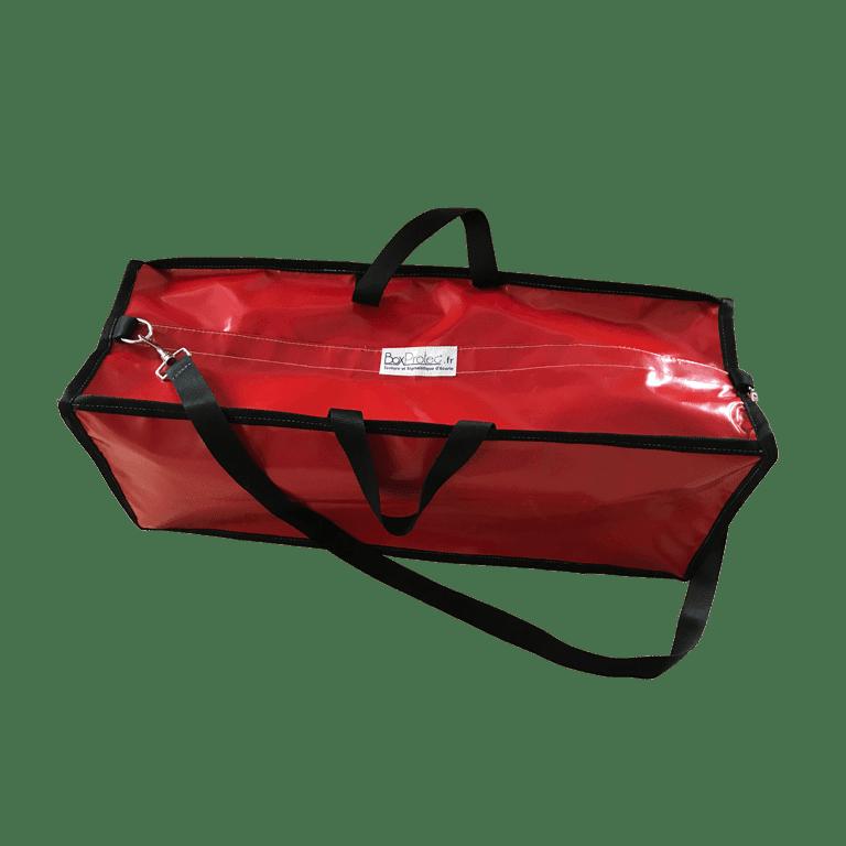 sac semi étanche rouge 62 litre