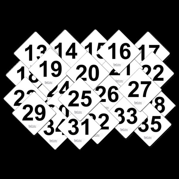 lot de numéro de cross
