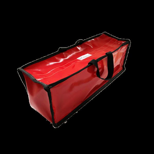 Grand sac de rangement rouge semi-étanche